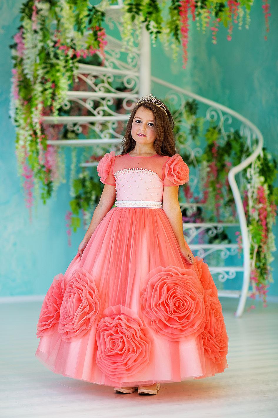 детские нарядные платья от производителя