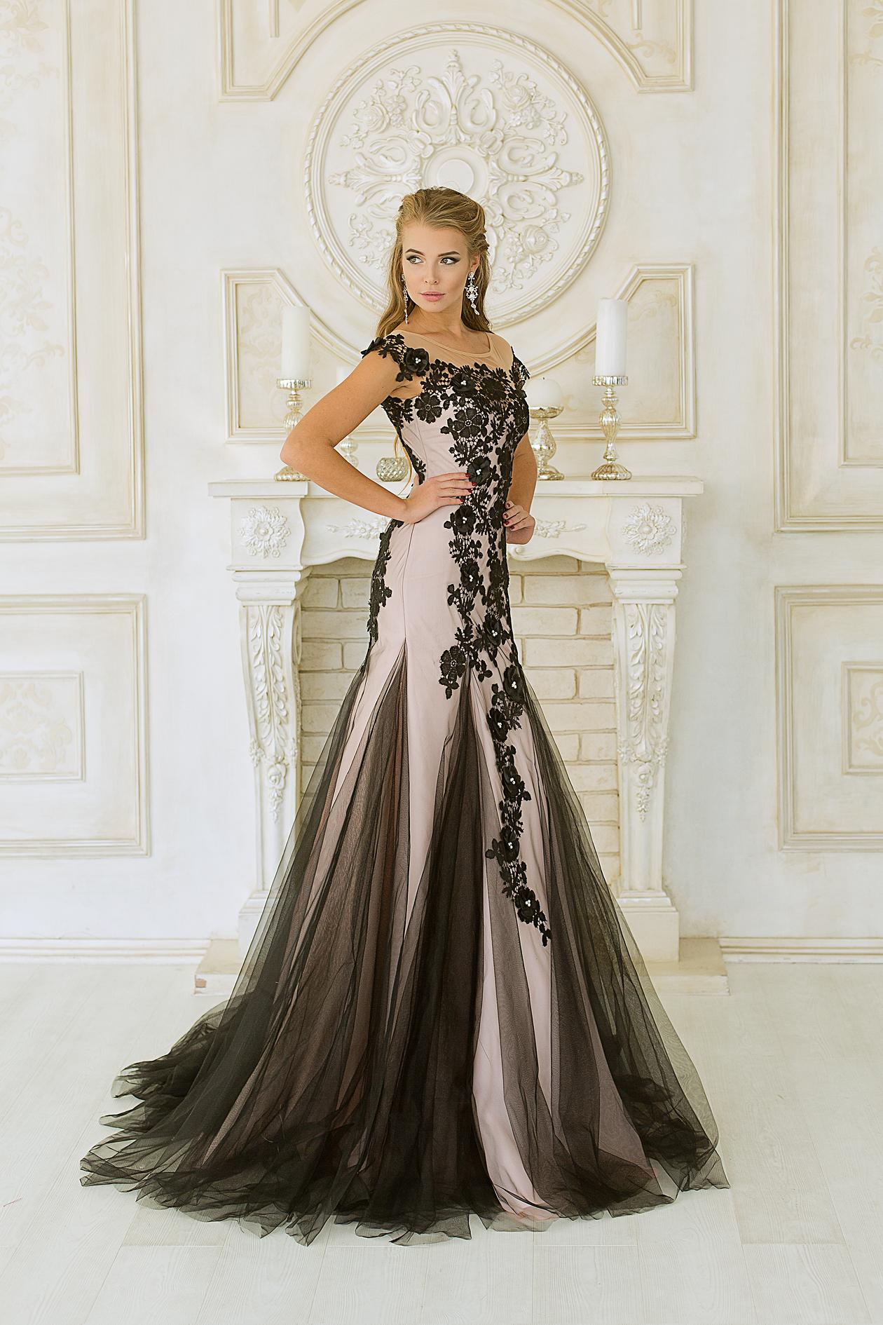 4f6c4798dfd Купить вечернее платье силуэта русалочка - Euphoria из атласа и ...