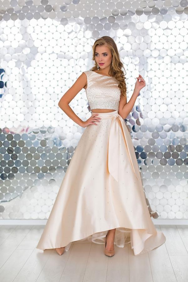 юбка и топ на выпускной 2018