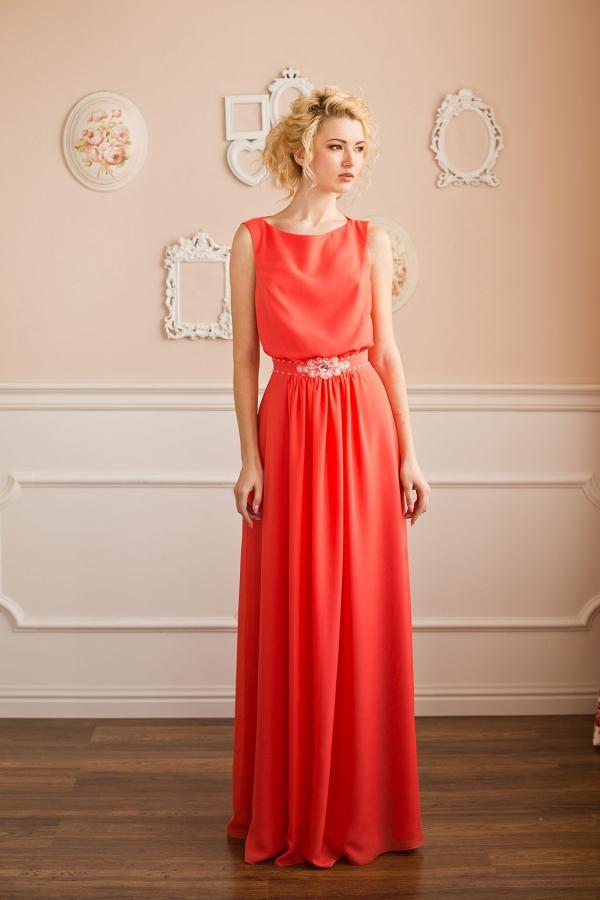 Классическое вечернее платье фото