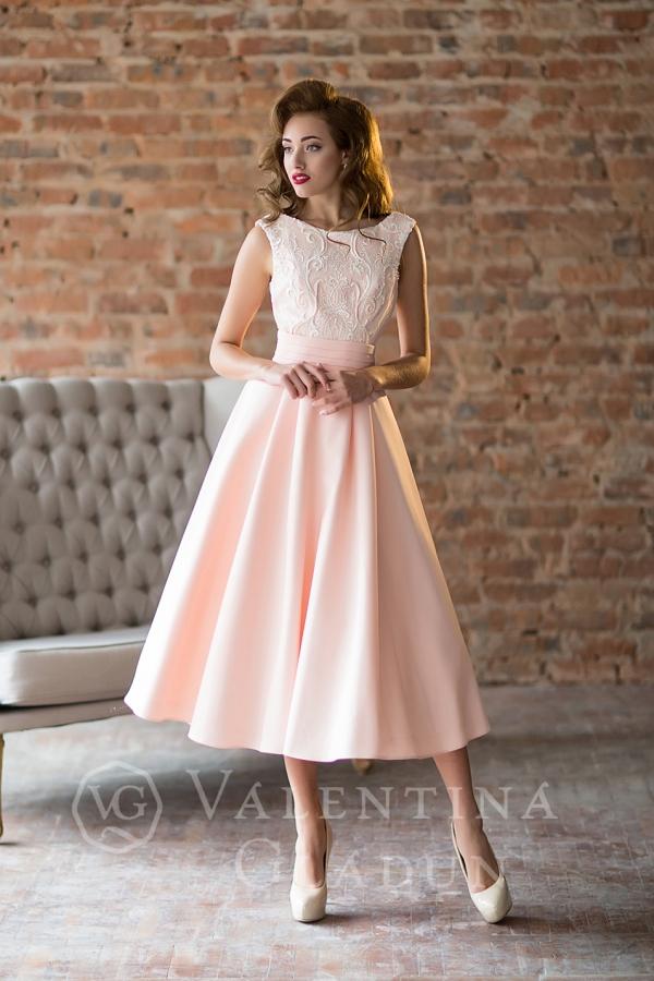 платье миди на выпускной 2018